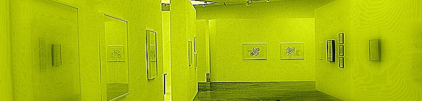 una sala de exposiciones